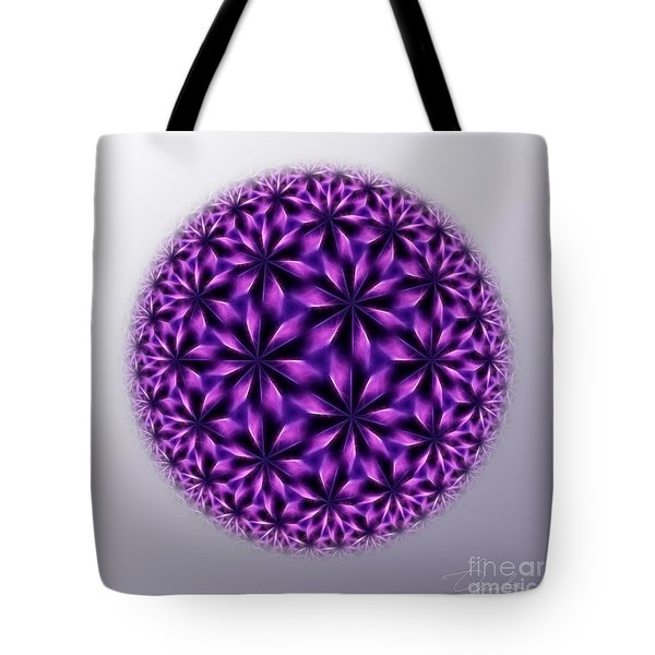 Last Dream Mandala Tote Bag by Danuta Bennett