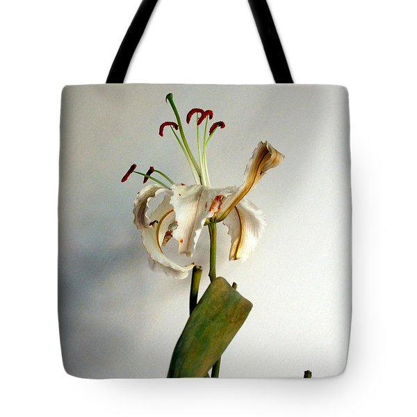 Tote Bag featuring the photograph Last Moments by Pravine Chester