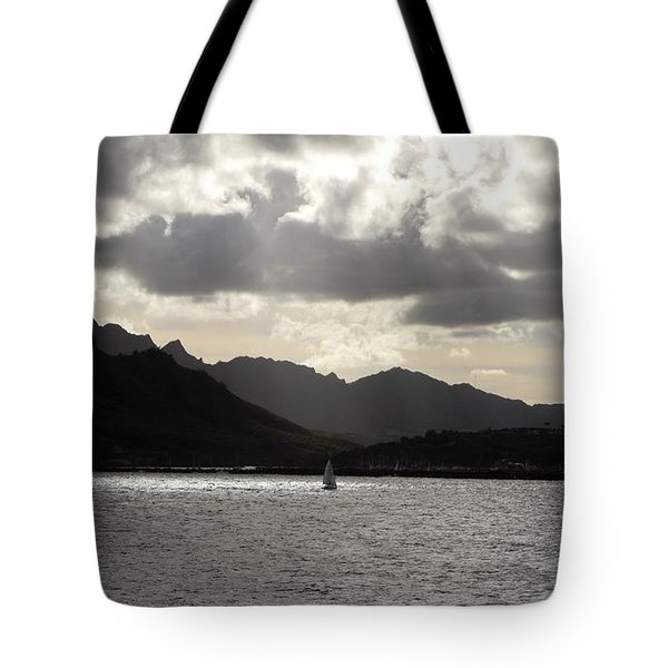 Tote Bag featuring the photograph Last One Home by Carol Sweetwood