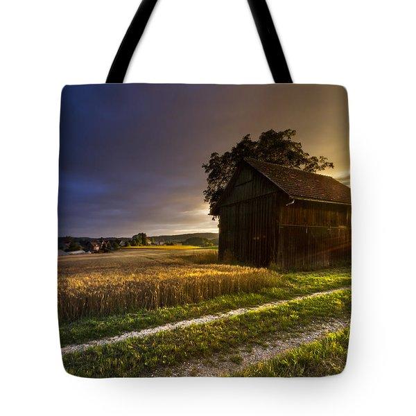 Last Sigh Tote Bag by Debra and Dave Vanderlaan