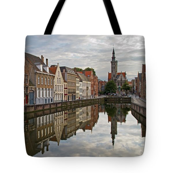 Late Afternoon Reflections Tote Bag