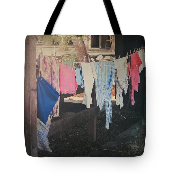 Laundry Day Tote Bag by Laurie Search