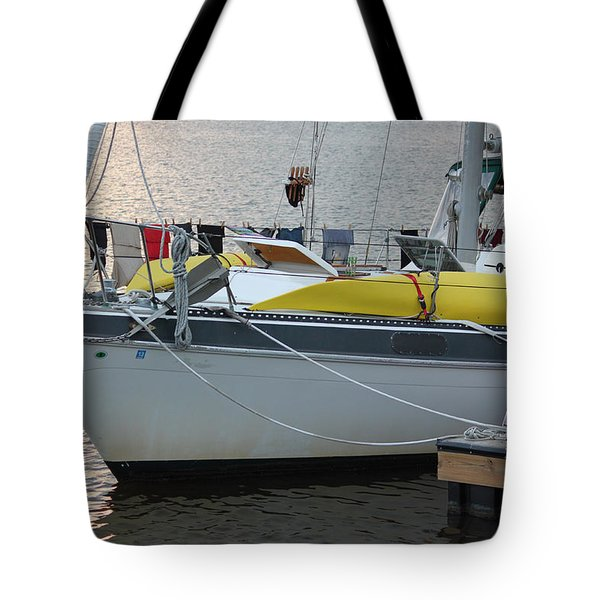 Laundry Day Tote Bag by Suzanne Gaff
