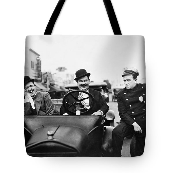 Laurel And Hardy, 1928 Tote Bag by Granger