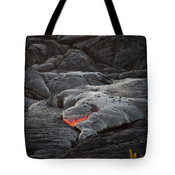 Lava Tote Bag by Ralf Kaiser