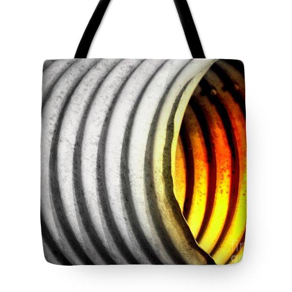 Lava Tube Tote Bag by Joe Jake Pratt