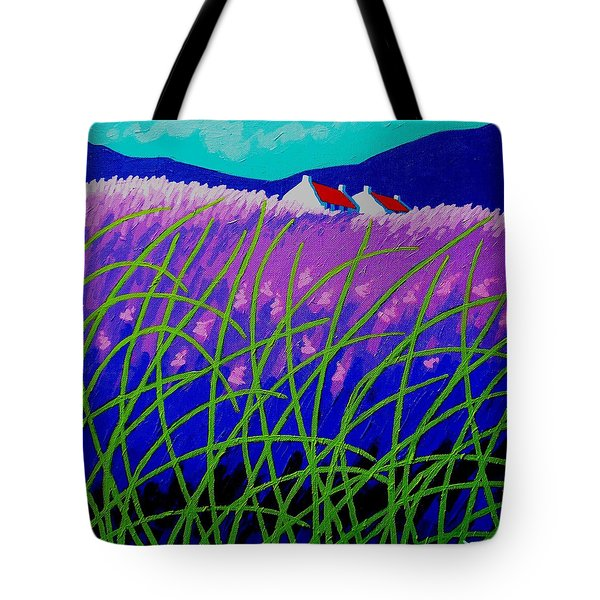 Lavender Hill Tote Bag by John  Nolan