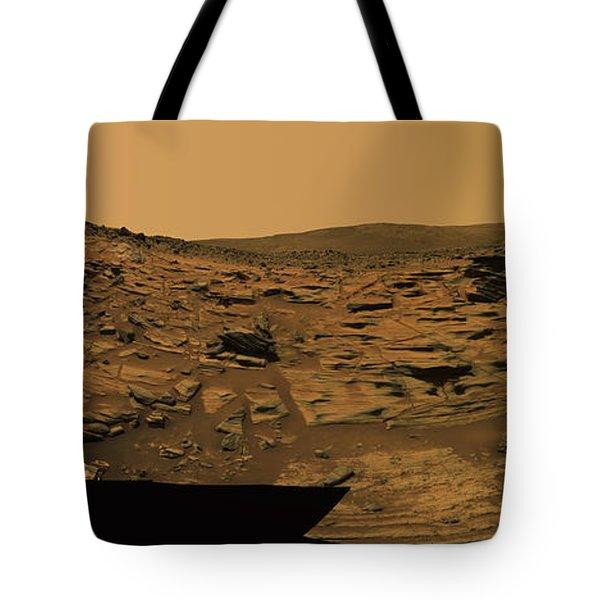 Layered Exposures Of Rock Tote Bag by Stocktrek Images