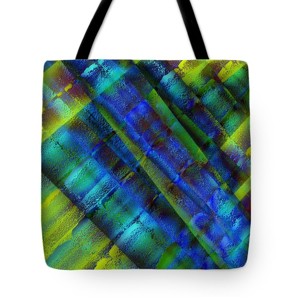 Tote Bag featuring the photograph Layers Of Blue by David Pantuso