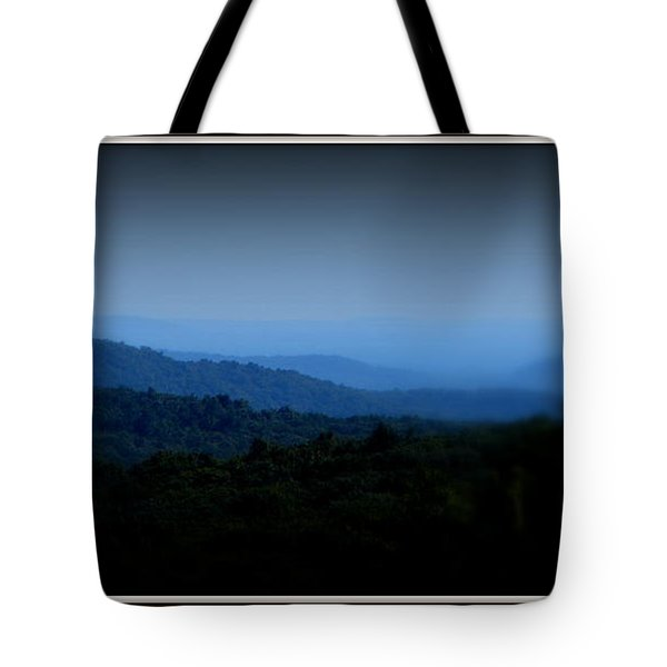 Layers Tote Bag by Priscilla Richardson