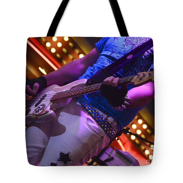 Laying It Down Tote Bag by Bob Christopher