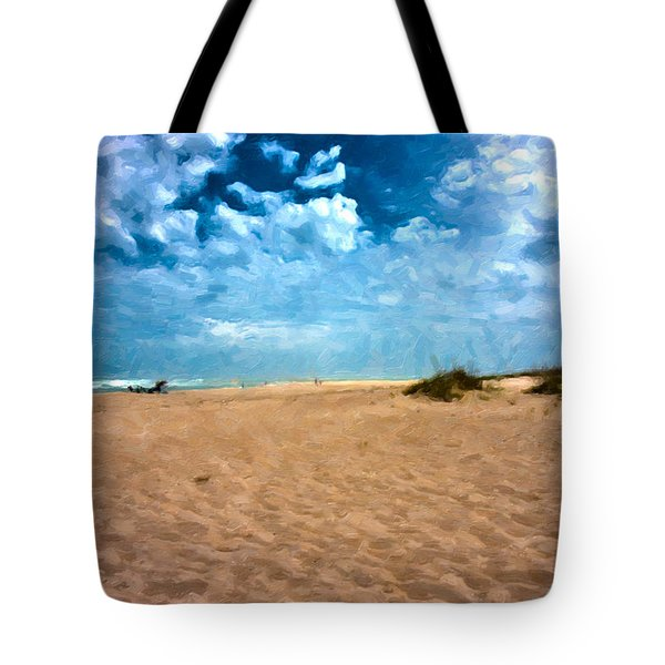 Lazy Day Tote Bag by Betsy Knapp