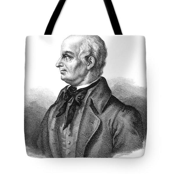 Lazzaro Spallanzani, Italian Biologist Tote Bag by Science Source