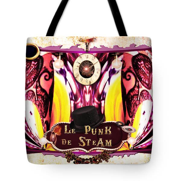 Le Punk De Steam Tote Bag