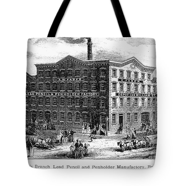 Lead Pencil Factory Tote Bag by Granger