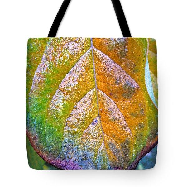 Leaf Tote Bag by Bill Owen