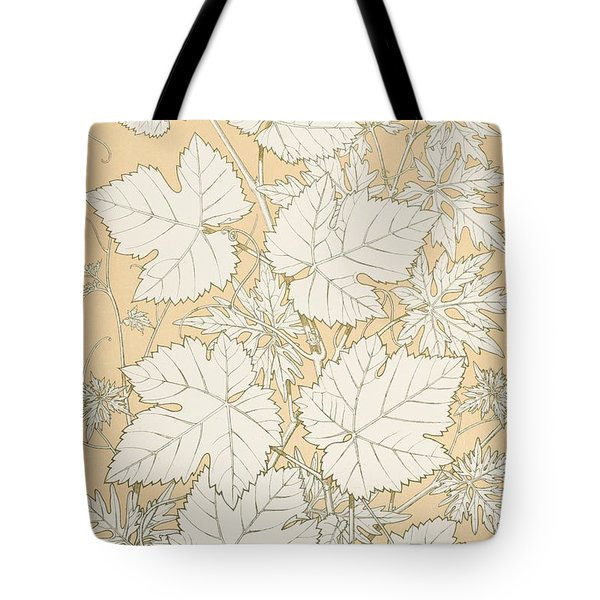 Leaves From Nature Tote Bag by Christopher Dresser
