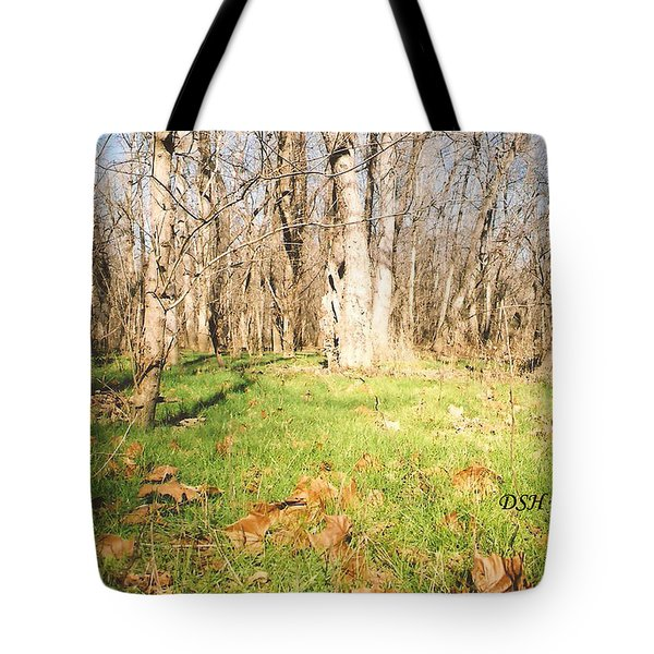 Leaves In The Fall Tote Bag