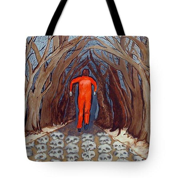 Leaving Eden Tote Bag by Lisa Brandel