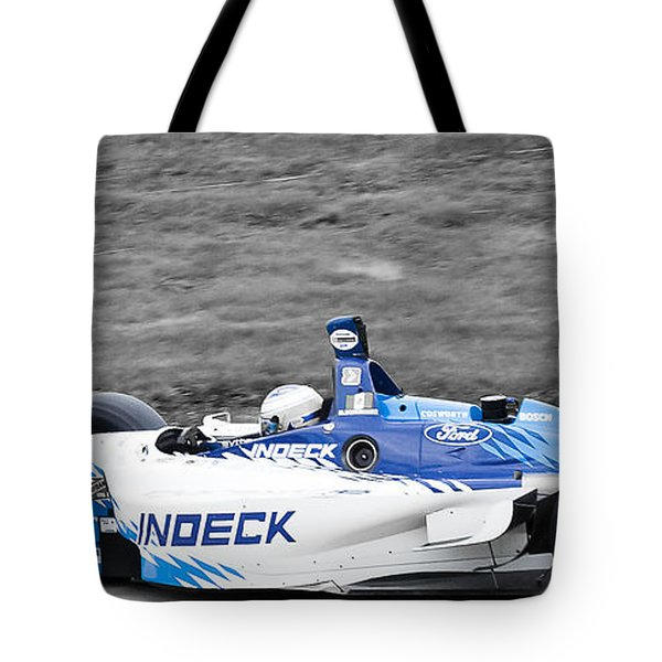 Leaving The Pits Tote Bag by Darcy Michaelchuk