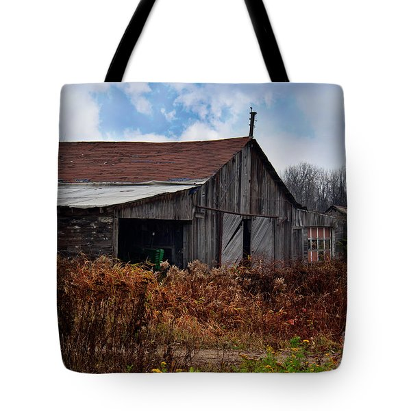 Left Behind Tote Bag by Ms Judi