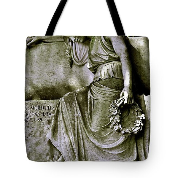 Left In Peace Tote Bag