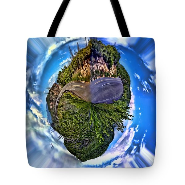 Left Or Right Tote Bag by Adam Vance