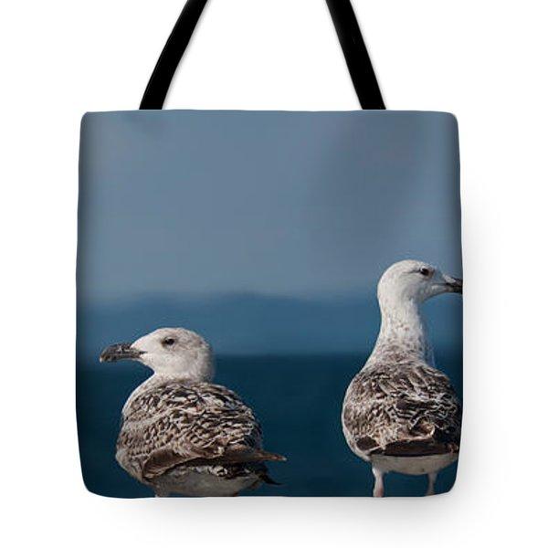 Left Right Left Right Tote Bag by Michael Mogensen