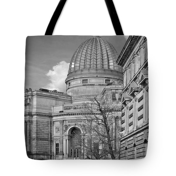 Lemon Squeezer - Academy Of Fine Arts Dresden Tote Bag by Christine Till