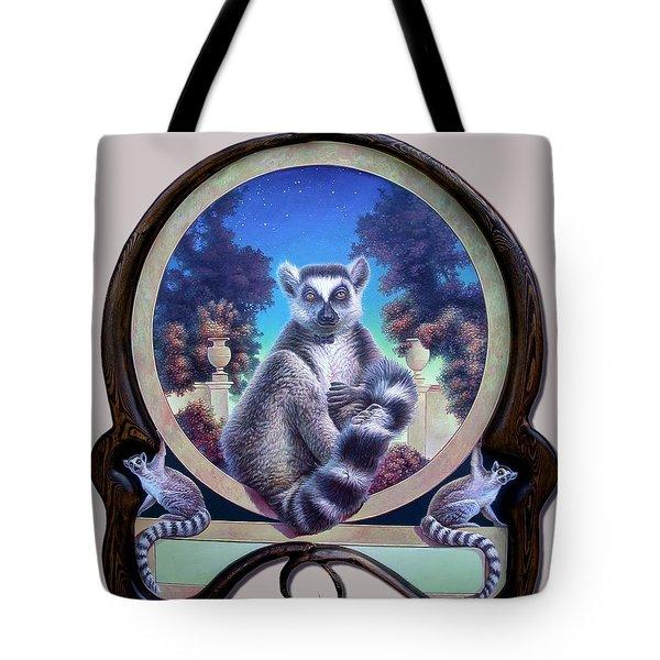 Zoofari Poster The Lemur Tote Bag