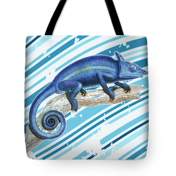 Leo Loves Lizards Tote Bag by Nikki Marie Smith