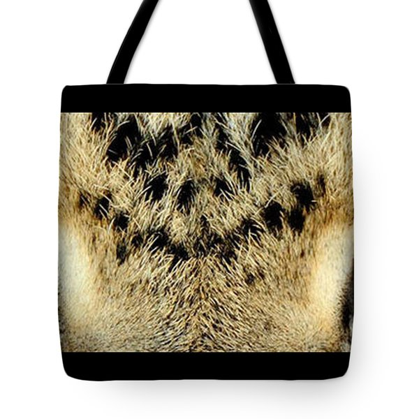 Leopard Eyes Tote Bag by Sumit Mehndiratta