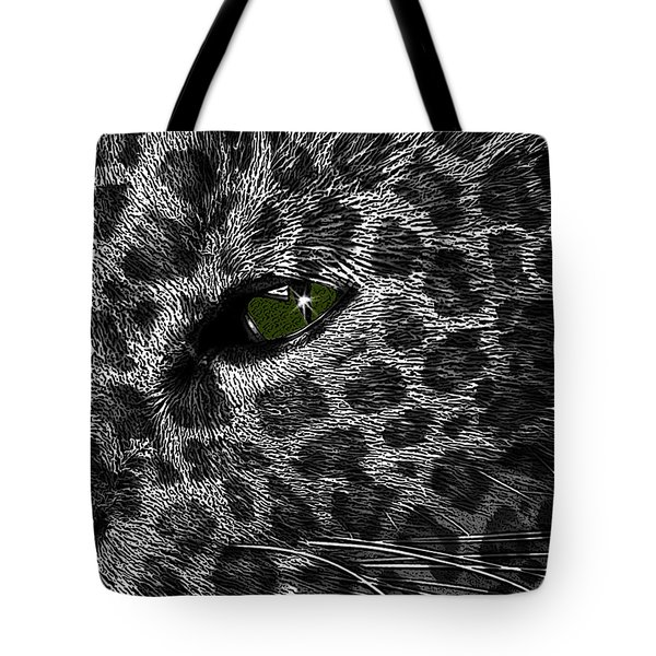 Leopard Within Tote Bag