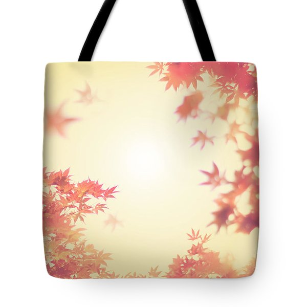 Let It Fall Tote Bag by Amy Tyler