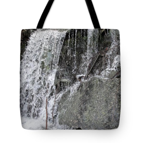 Tote Bag featuring the photograph Let It Flow by Tiffany Erdman