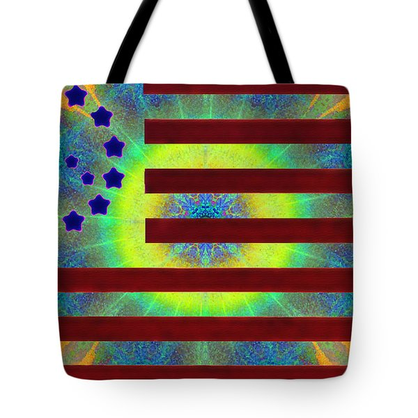 Let Your Freak Flag Fly Tote Bag by Bill Cannon