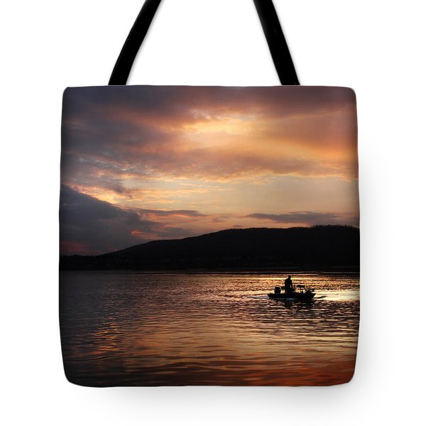 Let's Call It A Day Tote Bag by Lori Deiter