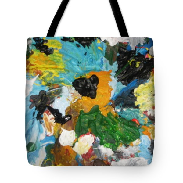 Tote Bag featuring the painting Lets Go Swirly by Mudiama Kammoh