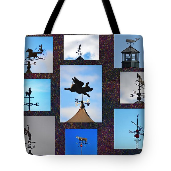 Lets Talk About The Weather Tote Bag by Bill Cannon