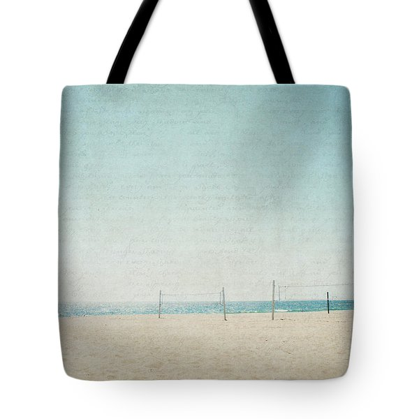 Tote Bag featuring the photograph Letters From The Beach by Lisa Parrish