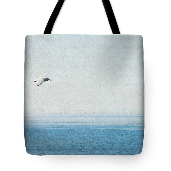 Tote Bag featuring the photograph Letters From The Sky by Lisa Parrish