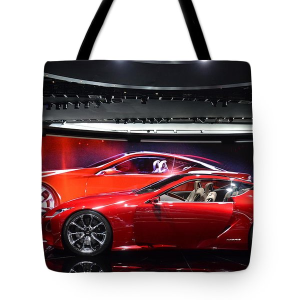 Lexus Lf-lc Tote Bag by Randy J Heath