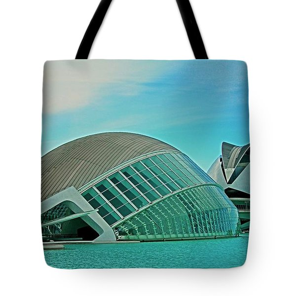 L'hemisferic - Valencia Tote Bag by Juergen Weiss
