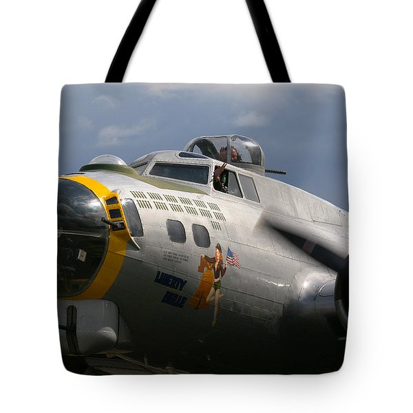 Liberty Belle B17 Bomber Tote Bag