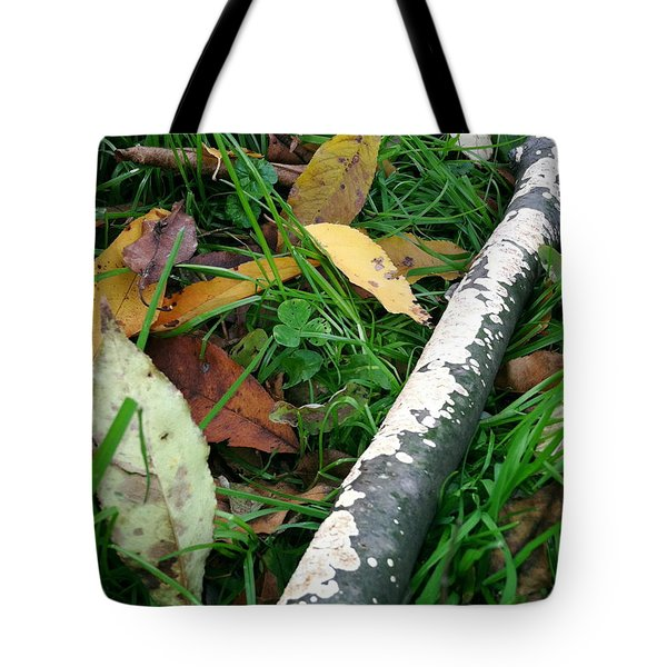 Lichen Recycling Tote Bag by Trish Hale