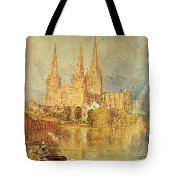 Lichfield Tote Bag by Joseph Mallord William Turner