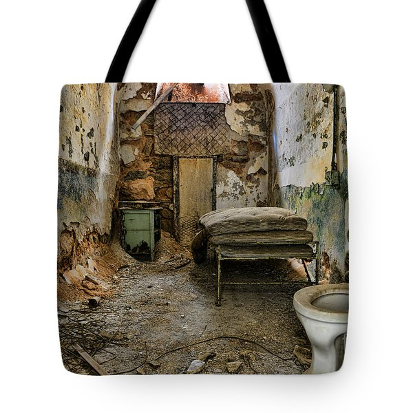 Life In Prison Tote Bag by Paul Ward