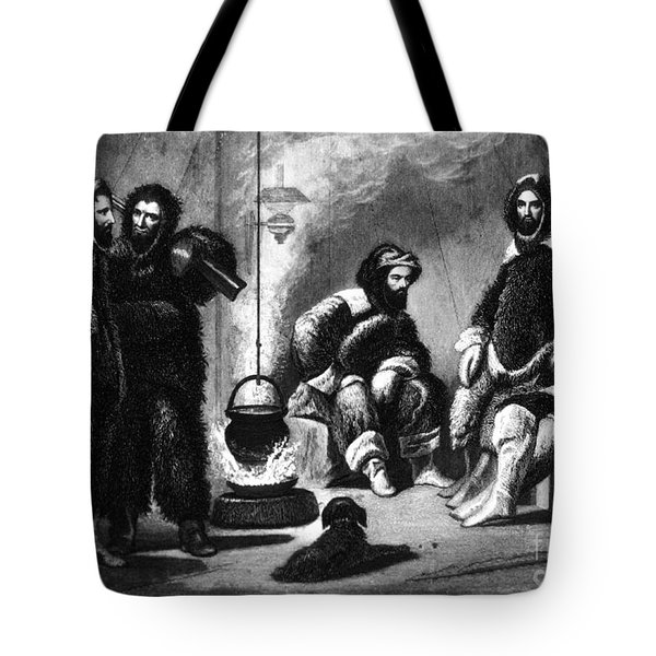 Life In The Arctic, 19th Century Tote Bag by Science Source