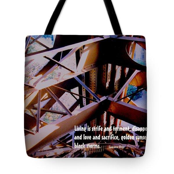 Life Is Strife Tote Bag by Ian  MacDonald
