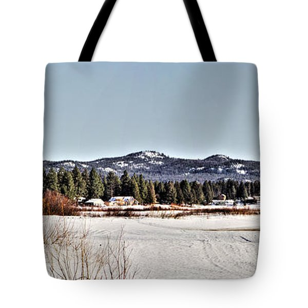 Life On The Lake Tote Bag